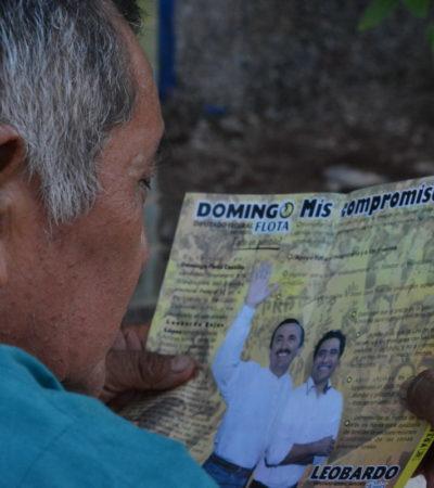 Votar por alguien conocido es votar por alguien que conoce a su pueblo: Domingo Flota