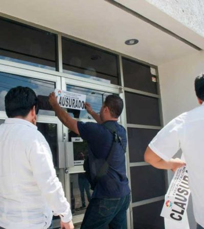 DAN REVÉS A PAUL Y BETO: Concede juez amparo a despacho clausurado por presunta represalía del Ayuntamiento de BJ