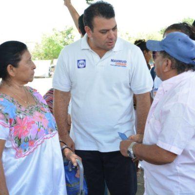 Mejoremos la economía de las familias quintanarroenses: Mahmud Chnaid
