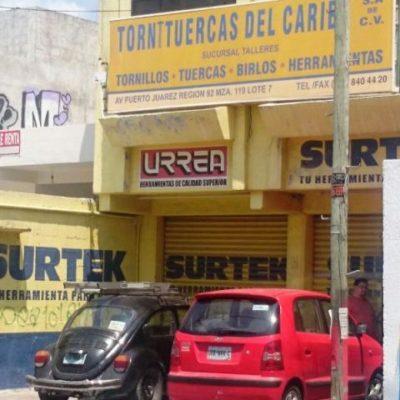 OTRO BOQUETAZO EN CANCÚN: Atracan tlapalería en la Región 92 y se llevan dinero y herramientas por más de $115 mil
