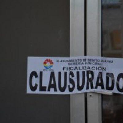 Por carecer de documentación para operar, clausuran clínica del sindicato de taxistas en Cancún