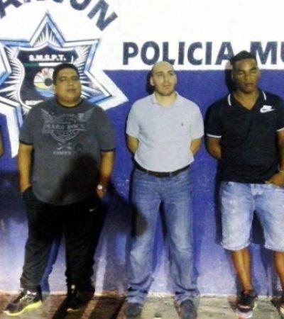 IMPUNIDAD AL MEJOR POSTOR: Pagan fianza y salen libres 4 'clonadores' venezolanos en Cancún