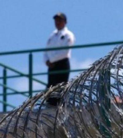 Refuerzan vigilancia en la cárcel de Cancún ante el temor de un nuevo motín