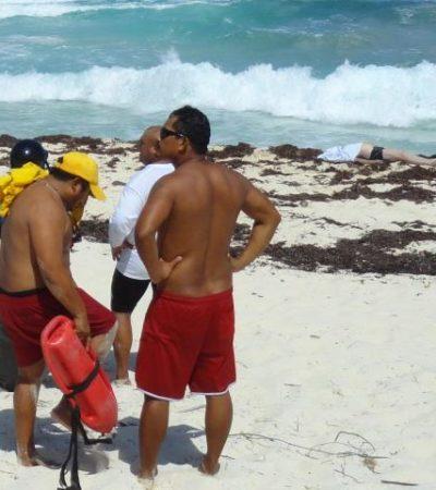 TRÁGICAS VACACIONES EN COZUMEL: Empresario regiomontano y su contador mueren ahogados al ser jalados por la corriente