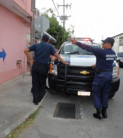 INSEGURIDAD EN COZUMEL: Asaltan en casa de empeño y roban en tienda de extintores