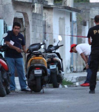 BAJO LA SOMBRA DE UN AJUSTE DE CUENTAS: Rocían de balas a una vivienda en Cozumel