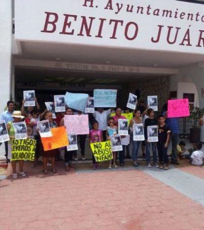 INDIGNACIÓN EN CANCÚN: Liberan a adolescentes implicados en violación de una niña; reclaman justicia en la calle