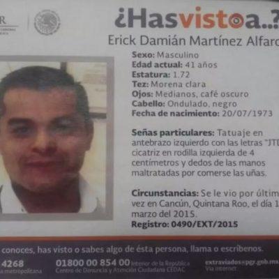 Después de 2 meses, no hay pistas sobre funcionario de PGR desaparecido; sigue la búsqueda