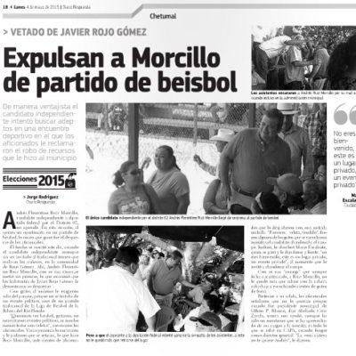 ¡ESCRIBEN LO MISMO!: Desnuda portal chetumaleño cómo dictan línea política a medios oficialistas en QR