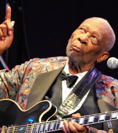 ADIÓS A LA LEYENDA DEL BLUES: A los 89 años, fallece en Las Vegas el guitarrista B. B. King, uno de los más grandes