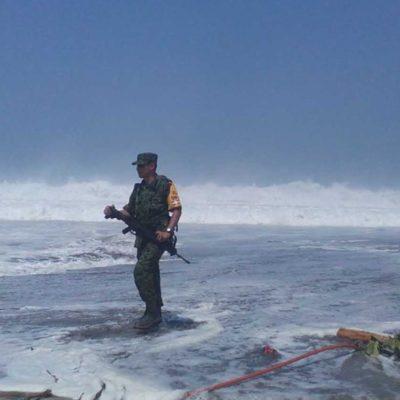 ADVIERTEN MAR DE FONDO PARA QR: Esperan fenómeno de fuerte oleaje de corta duración el domingo Día de las Madres