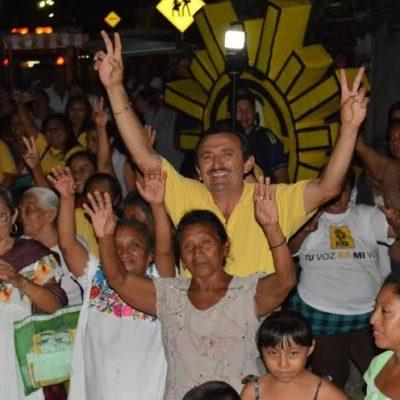 José María Morelos se merece un mejor destino y un mejor futuro, dice Domingo Flota al llamar a votar por el cambio