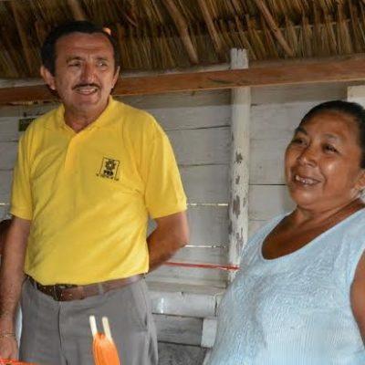Ofrece Domingo Flota ser aliado de las mujeres trabajadoras que son el motor que mueve a las familias quintanarroenses