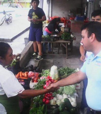 """Asegura Mahmud Chnaid que su campaña """"va muy bien"""" y que quintanarroenses están dispuestos a ser parte del cambio"""