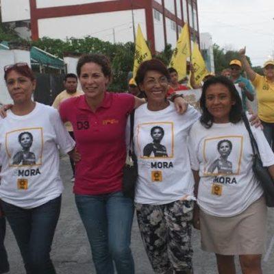 Se pronuncia Iris Mora por legislar para garantizar respeto de derechos de mujeres y niñas