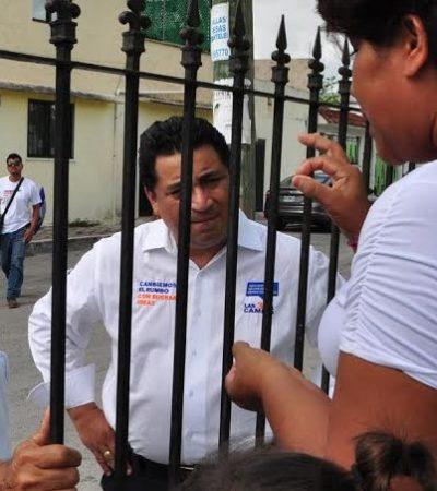 """Asegura Eduardo Martínez que """"votar por el PRI es premiar a quienes no han cumplido y han dañado al país"""""""
