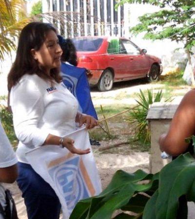 Mayor contacto con la ciudadanía y rendición de cuentas, ofrece Fabiola Ballesteros