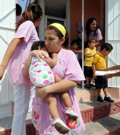 Directora de guardería obligó a una niña de 2 años a comer su vomito; presentan denuncia