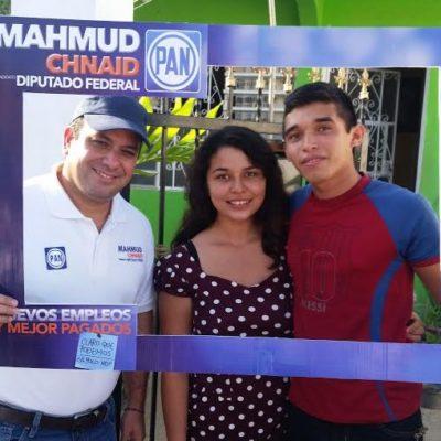 """""""SOY UN CIUDADANO QUE EMPEZÓ DESDE ABAJO"""": Se dice Mahmud Chnaid comprometido con los quintanarroenses"""