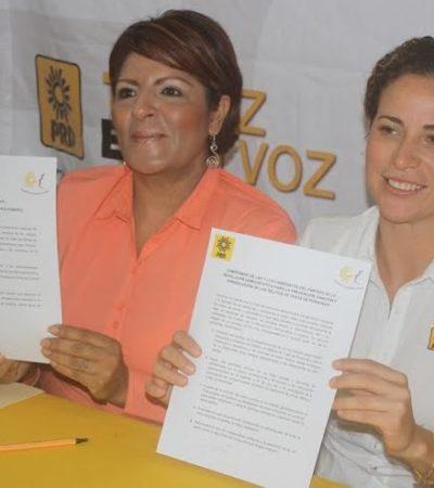 FIRMA IRIS MORA COMPROMISO CONTRA FEMINICIDIOS: Impulsará legislación más severa para prevenir y combatir trata