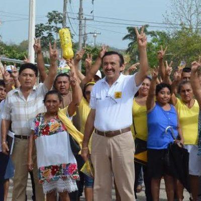 Asegura Domingo Flota que será un diputado de tiempo completo que representará al pueblo y no al gobernante en turno