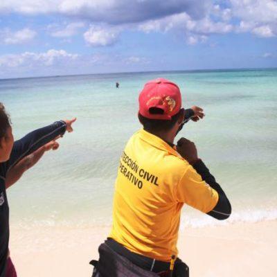 MERODEAN COCODRILOS EN PUNTA ESMERALDA: Al menos tres lagartos provocan cierre temporal de populosa playa en la Riviera Maya