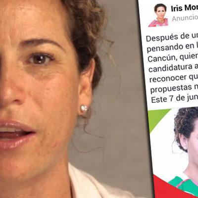DESATAN PUERIL GUERRA SUCIA: En la víspera de las elecciones, usan redes sociales contra Iris Mora; difunden fotomontajes para confundir al electorado