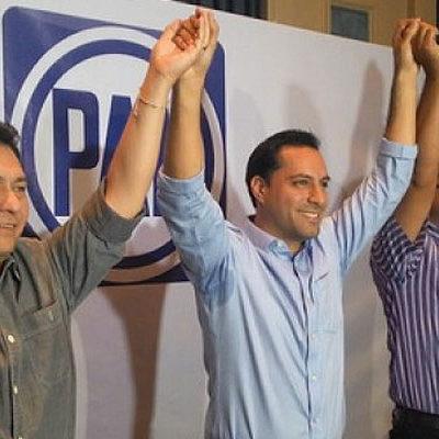 RETIENE PAN ALCALDÍA DE MÉRIDA: Mauricio Vila se declara triunfador por encima del priista Nerio Torres