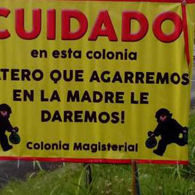 """""""¡RATERO QUE AGARREMOS EN LA MADRE LE DAREMOS"""": Ante la incapaz policía, chetumaleños lanzan advertencia a los ladrones"""