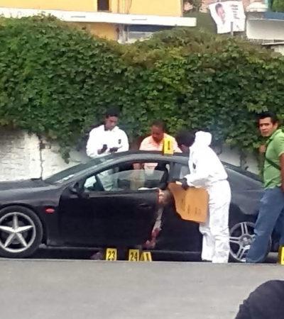 A balazos, matan a ex jefe de la policía en Tepoztlán, Morelos