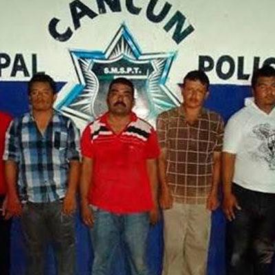 PRÓFUGOS, CABECILLAS DE BANDA DE ROBA-CAJEROS: Consignarán a 9 detenidos contratados para cometer atracos en Cancún