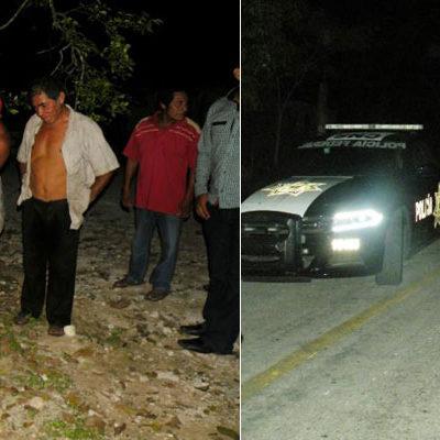 RETIENEN POBLADORES A UN JUDICIAL: Habitantes de comunidad de la Zona Maya de Tulum impiden detención de un vecino y amarran a un agente