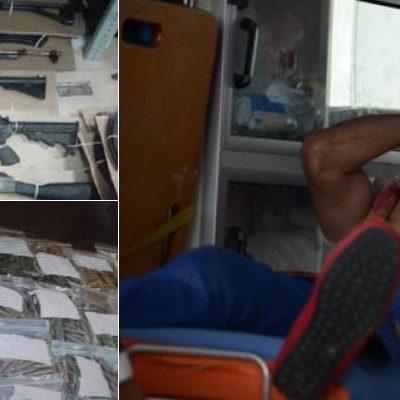 CAE LÍDER DEL CDG EN CANCÚN: Tras un tiroteo, capturan al 'Junior' y a sicarios; decomisan arsenal y droga
