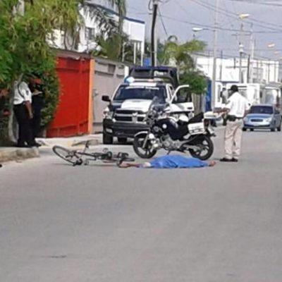 Muere ciclista tras ser atropellado cuando circulaba sobre la Avenida Fonatur de Cancún
