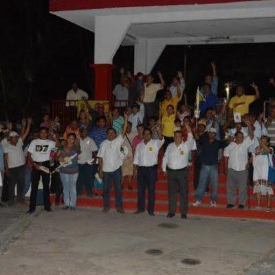 VA CHUNHUHUB CON DOMINGO FLOTA: La población no va permitir que sigan privatizando los recursos del pueblo