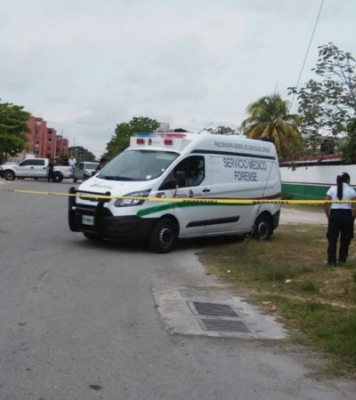 EJECUTADO EN SECUNDARIA DE CORALES: Con huellas de tortura y 2 balazos, tiran cadáver de un hombre en escuela de Cancún