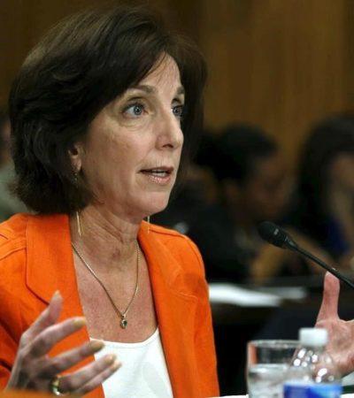 UNA MUJER REPRESENTARÍA A EU: Nomina Obama a Roberta Jacobson como embajadora en México