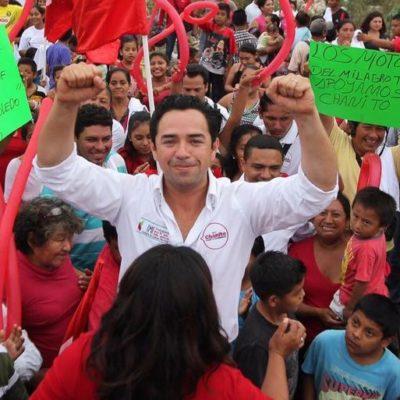 """Llama 'Chanito' Toledo a salir a votar por """"un Quintana Roo mucho más fuerte"""""""
