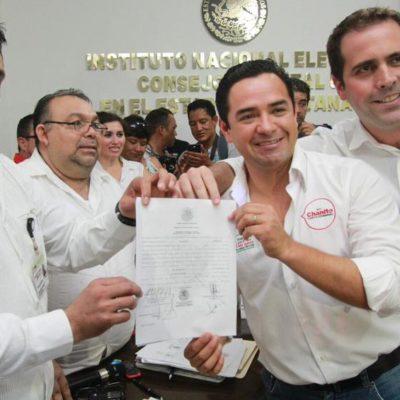 CONFIRMAN ELECCIÓN 'BANANERA' EN DISTRITO DE 'EL DELFÍN': Entrega INE constancias de mayoría a diputados electos; 'Chanito' gana con 60 mil votos de diferencia en el 01 de QR