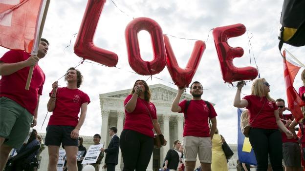 """""""EL AMOR GANA"""": También en EU la Suprema Corte determina que los estados no pueden prohibir el matrimonio gay"""
