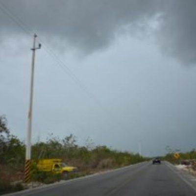 Con la lluvia, se apagan incendios forestales en el norte de QR