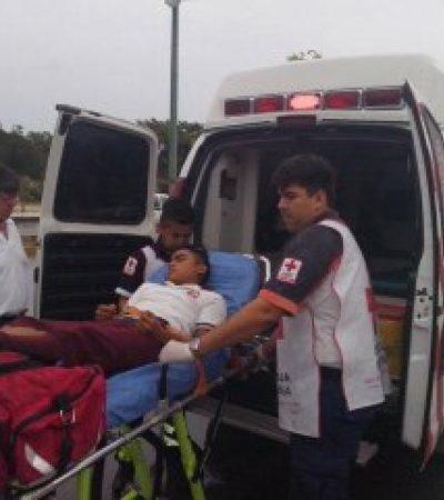 Recibe estudiante descarga eléctrica en secundaria de Cancún