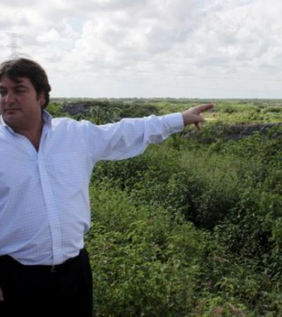 VA PGR CONTRA REPRESENTANTE DEL 'DRAGON MART': Abren expediente contra Juan Carlos López Rodríguez por daños ambientales