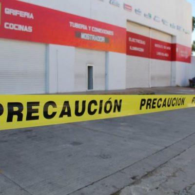BOQUETAZO EN LA ZONA: Ladrones atracan negocio de plomería y electricidad en FCP