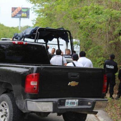 INVESTIGAN FEMINICIDIO EN CANCÚN: Mujer hallada muerta en la Zona Hotelera fue estrangulada y arrojada en la maleza