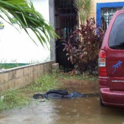 SALDO ROJO POR LAS LLUVIAS: Un hombre muere electrocutado en Cancún