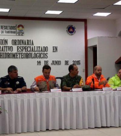 NI TARDO NI PEREZOSO: Por lluvias en Cancún, Alcalde se apresta a pedir recursos del Fonden