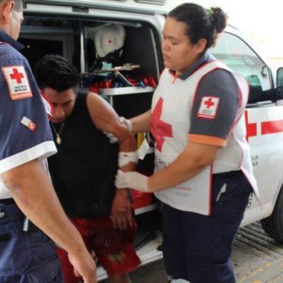 OTRO CASO DE JUSTICIA POR PROPIA MANO: Vecinos de la R-248 apuñalan a ladrón que luego escapa del hospital en Cancún