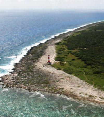 Recala tabique de cocaína cerca del faro de Punta Molas en Cozumel