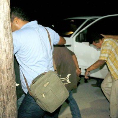 Consignan a 3 presuntos implicados en balacera y asesinato en fraccionamiento 'In House' de Playa del Carmen